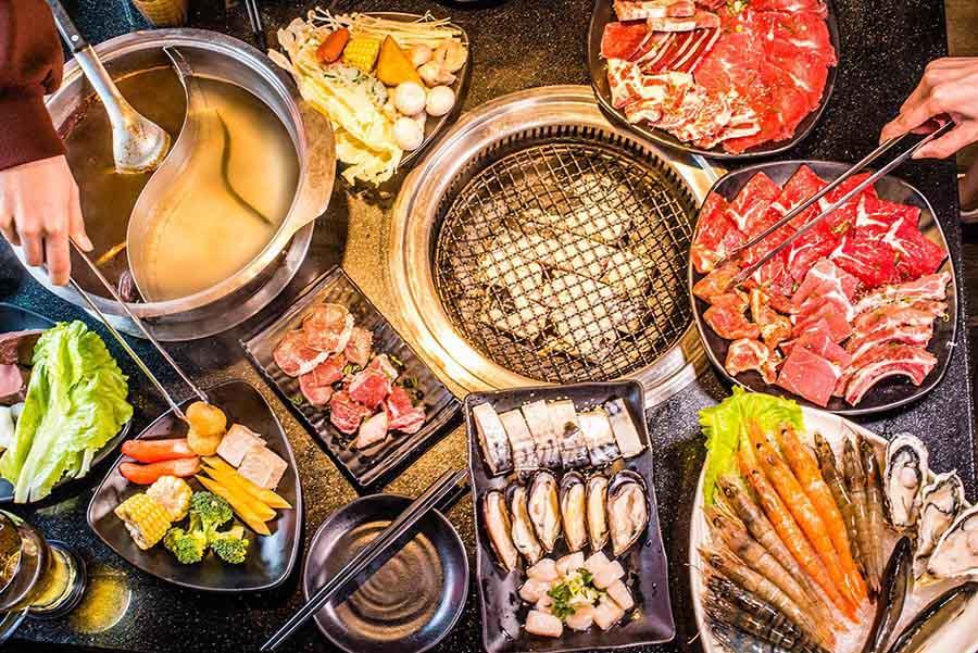 【西門町美食】瓦崎燒烤火鍋 2019 私心推薦必點的20種肉品、海鮮等烤物!(內有詳細菜單)