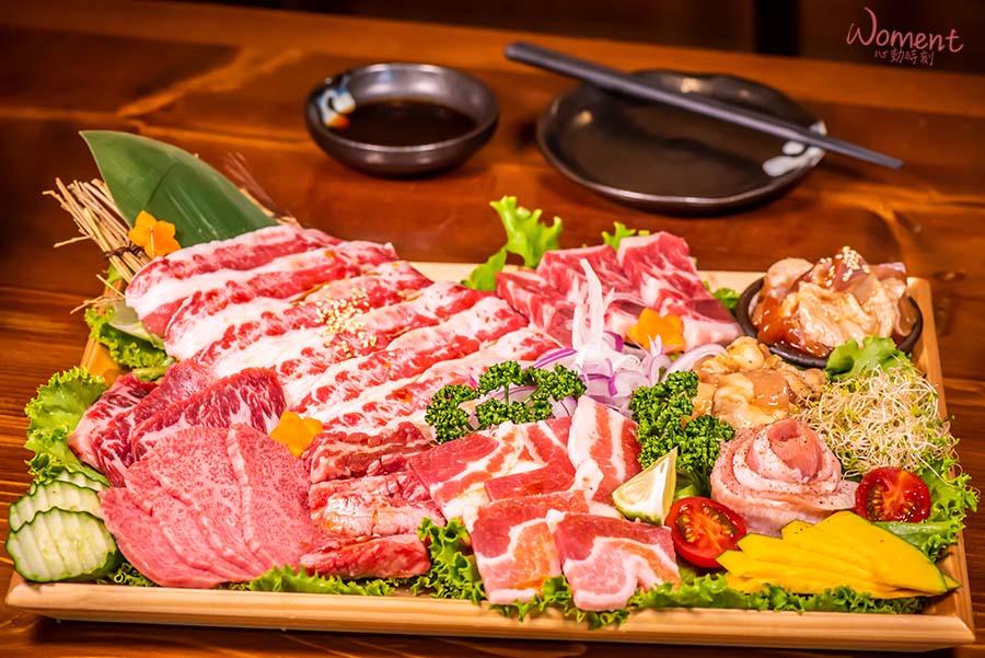 西門燒烤-喜多肉-豪華極盛拼盤