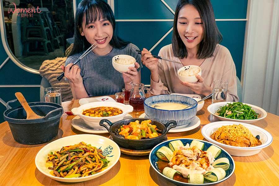 「開飯川食堂」四人套餐,非年菜內容。