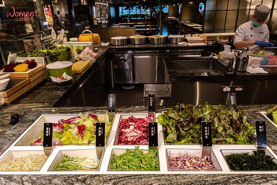 蔬食素食餐廳-吃到飽推薦果然匯 - 生菜沙拉吧