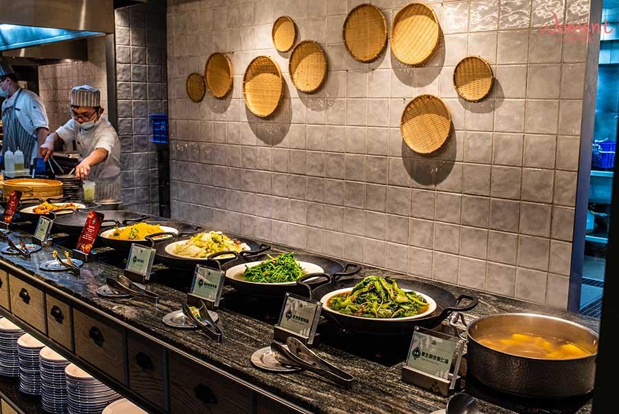 蔬食素食餐廳-吃到飽推薦果然匯 - 熱炒料理