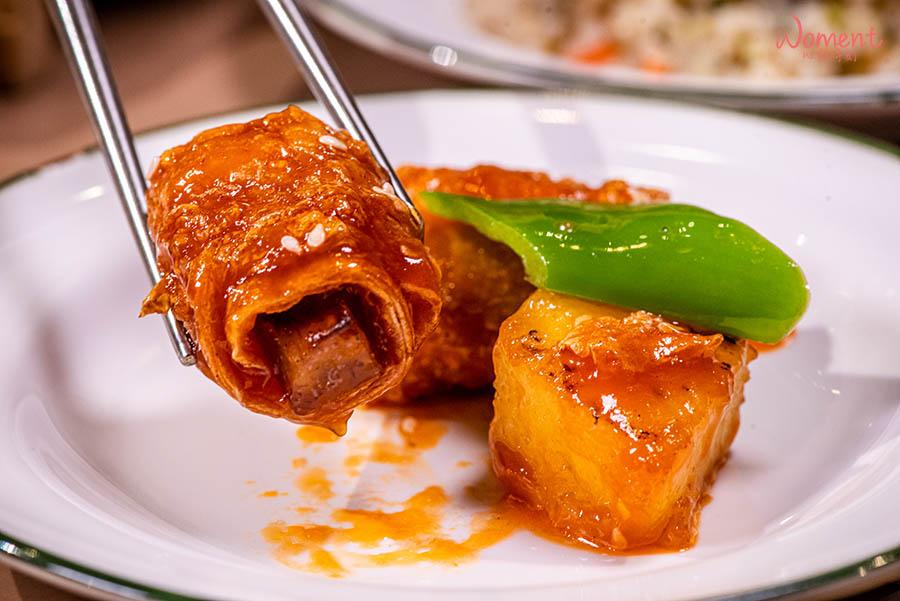 蔬食素食餐廳-吃到飽推薦果然匯 - 糖醋豆卷創意菜色