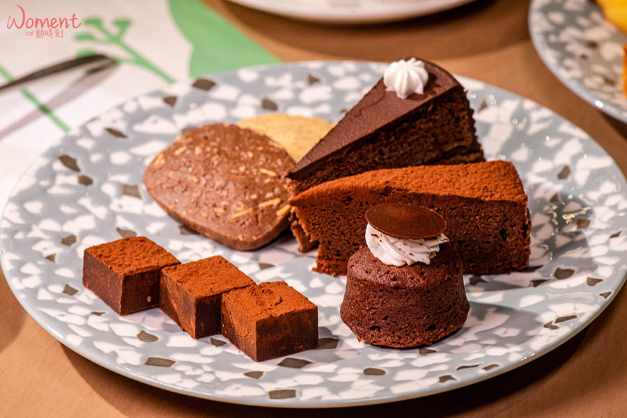 蔬食素食餐廳-吃到飽推薦果然匯 - 巧克力甜點