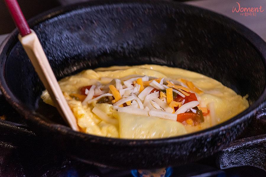 蔬食素食餐廳-吃到飽推薦果然匯 - 創意菜色歐姆蛋捲