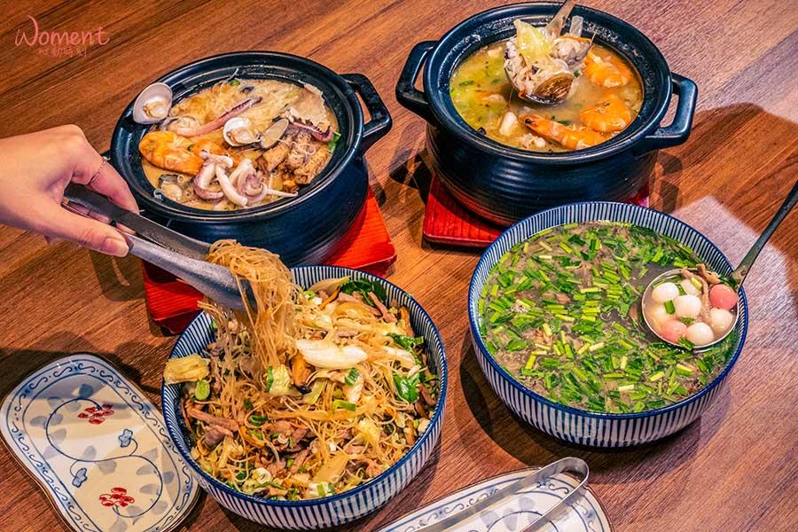 臺菜餐廳十大推薦 - 真珠 - 四款台菜主食
