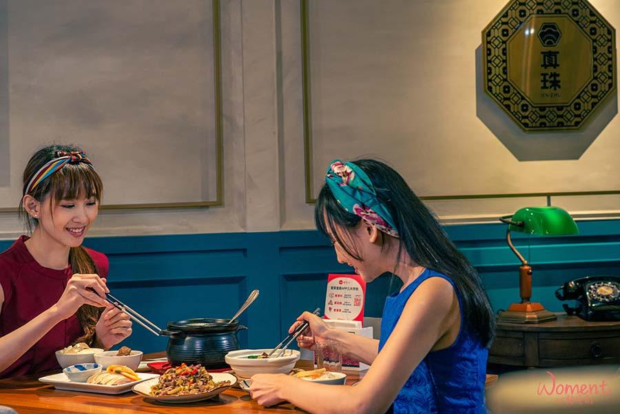 網美餐廳「真珠台灣家味」