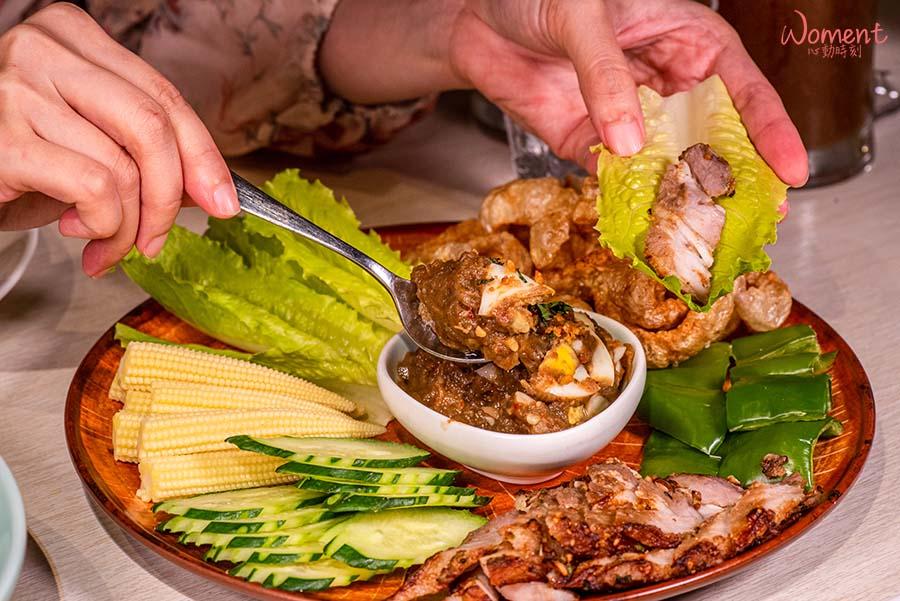 泰國菜推薦泰式餐廳-饗泰多-泰式生菜沙拉