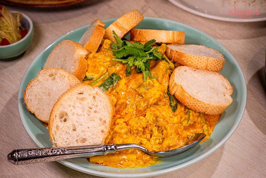 饗泰多年菜外帶 - 單品菜色咖哩軟殼蟹示意圖