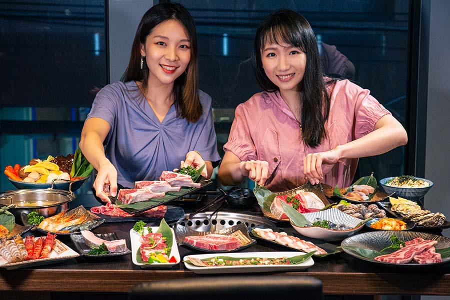 板橋燒烤吃到飽-饗鮮肉日式燒烤-Woment-封面