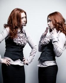 Businesswoman clone