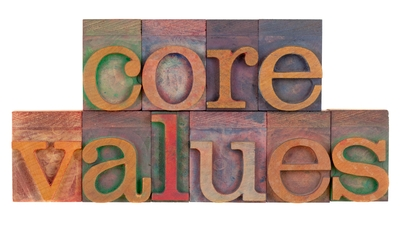 Values in leadership