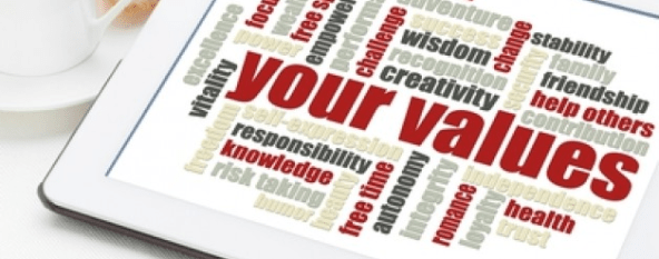 Values based decisions
