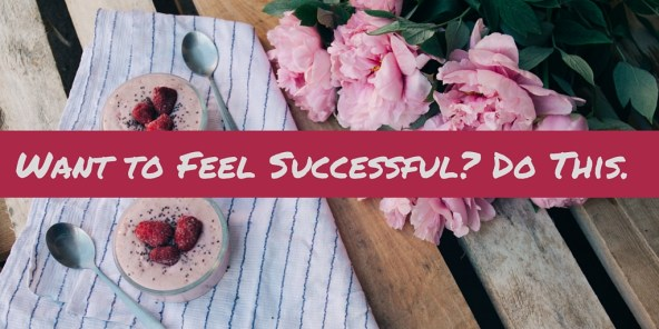 feel successful