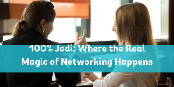 Where the real magic of networking happens