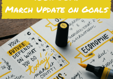 March Update on Goals