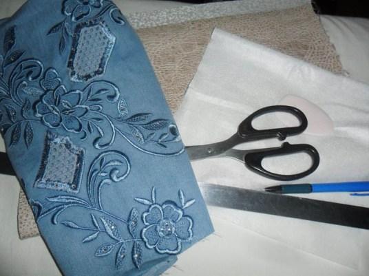 Что нужно для шитья сумки дома, джинс