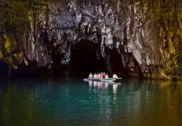 подземная река, палаван