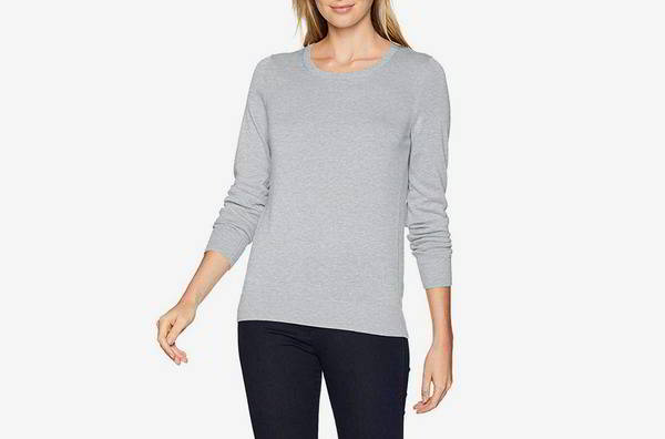 Amazon Necessities Women's Light-weight Crewneck Sweater