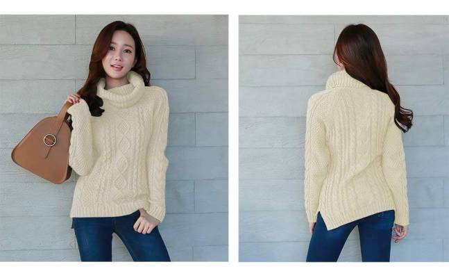 Best cable-knit sweater for girls