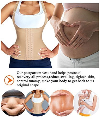 Gotoly Women Waist Trainer Corset Postpartum Maternity Belt