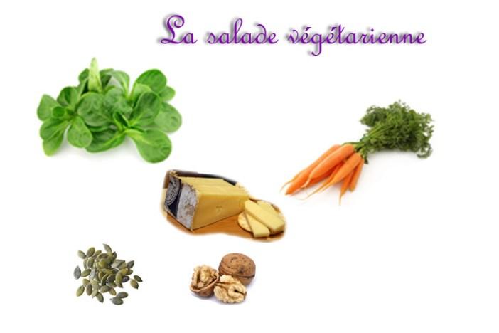 salad vegan cheese