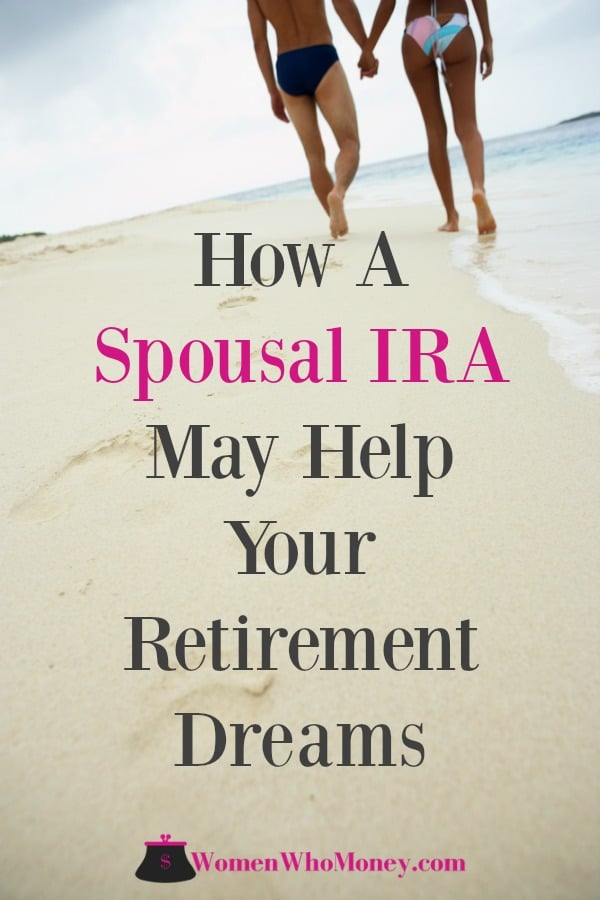 A spousal IRA may be a tax-efficient option to boost retirement savings for some couples when one spouse is not employed. #spousalira #ira #retirementplanning #retirmentsavings