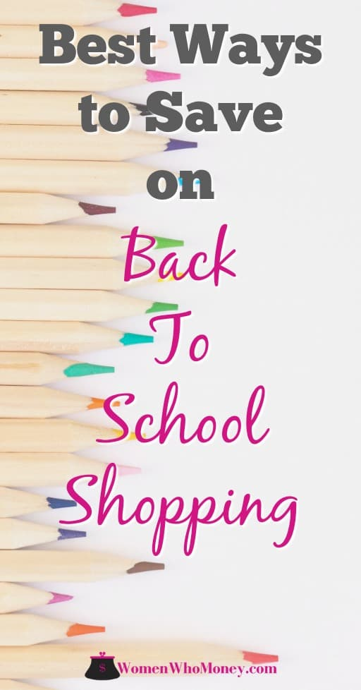 Use these tips to lower back-to-school shopping costs as much as you can. Find ways to easily save money on everything you need to start the school year off right. #backtoschoolshopping #shopping #schoolcosts #schoolsupplies #schoolshopping #cashbacksites #giftcards