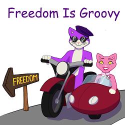 Freedom Is Groovy logo