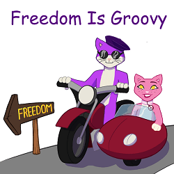 Monthly Sponsor Freedom Is Groovy
