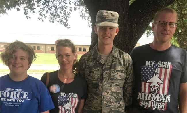 Amanda and her family