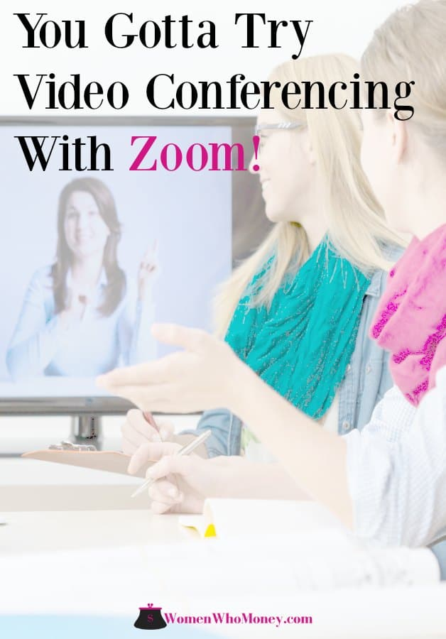 ideo conferencing with Zoom 4