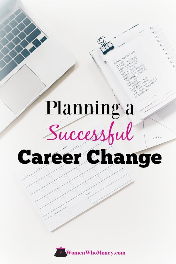 Your career will be an integral part of your life, so it's imperative to spend significant time planning for a successful career change.  Here's how. #career #planning #jobchange