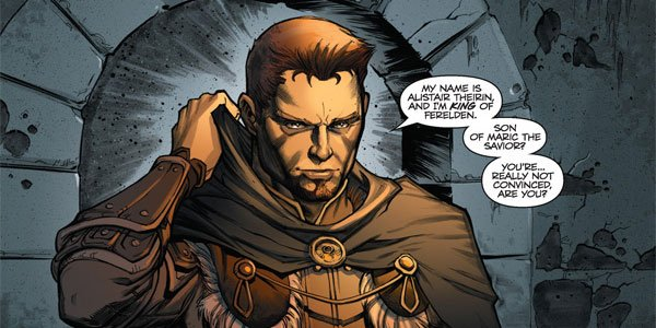 Alistair - Dragon Age - Those Who Speak - Dark Horse Comics