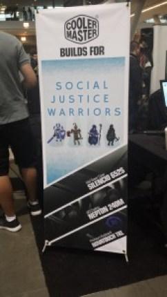 Social Justice Warriors sign