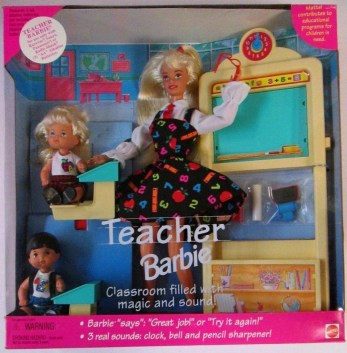 Teacher Barbie, Mattel, 1995
