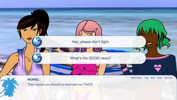 Beach Island Screenshot - Options