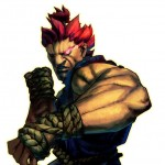 Street Fighter 4, Capcom/Dimps, Capcom, 2008. A redheaded man holds up a fist.