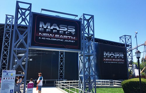 Mass Effect: New Earth Ride