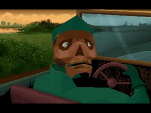 Zombie cab driver