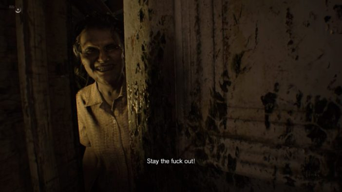 Resident Evil 7, Capcom, 2017 (retrieved from Polygon)