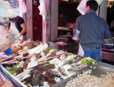 Venedig 28 Venedig Fischmarkt Verkauf