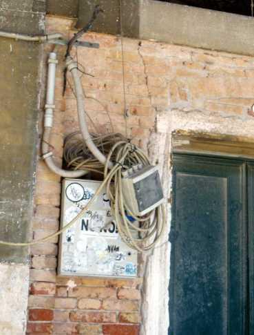 Venedig 34 Venedig Elektroverkabelung