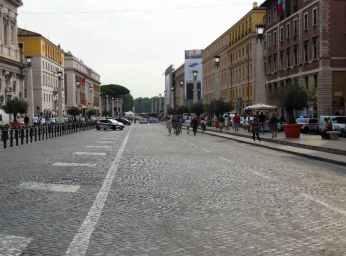 Rom - Vatikan 6 - Via della Conciliazione