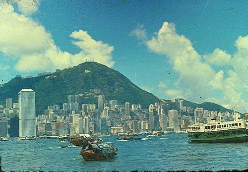 Hong Kong Harbour, 1974