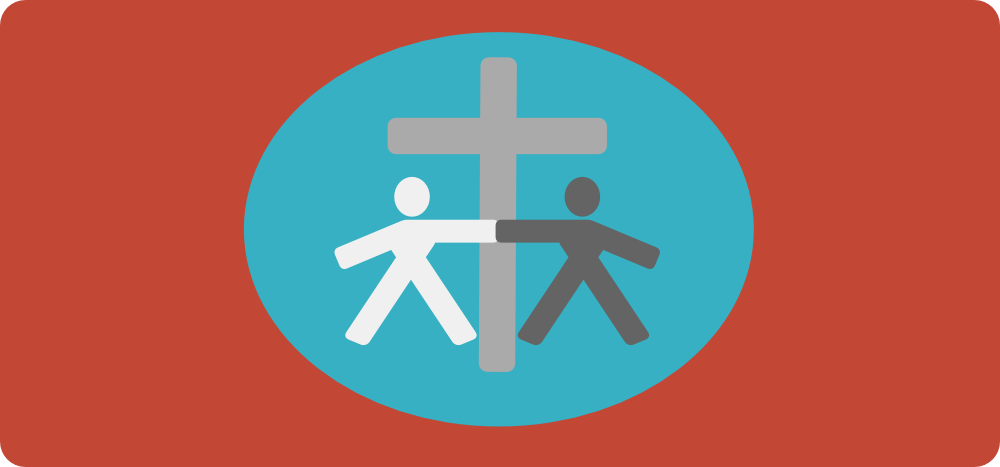 Won By One Bible Study Course Logo turquois and red
