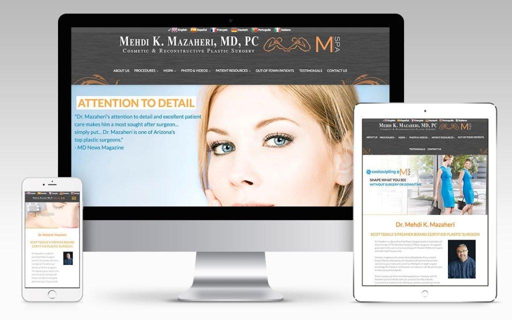Web Design Portfolio Dr. Mazaheri