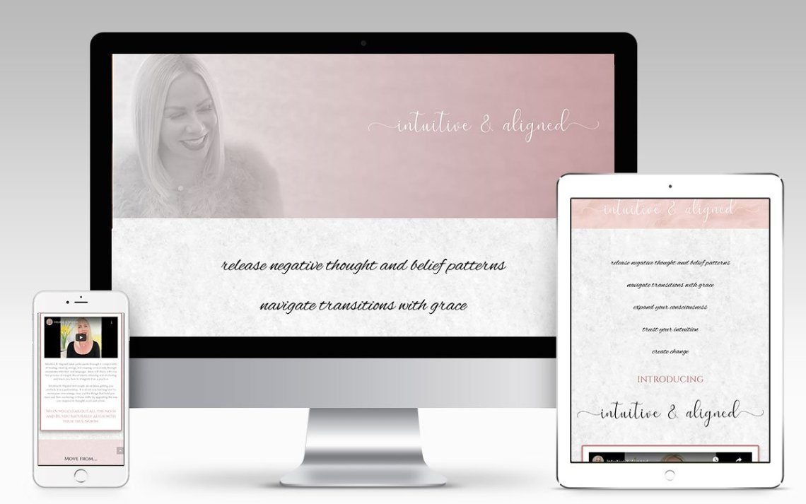 Intuitive & Aligned Landing Page