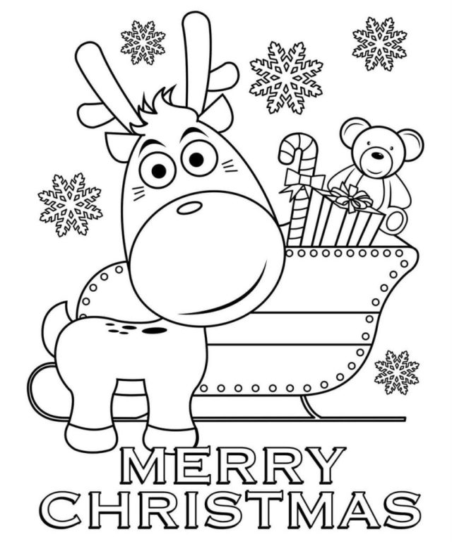 Christmas coloring pages. 22 Printable Coloring pages