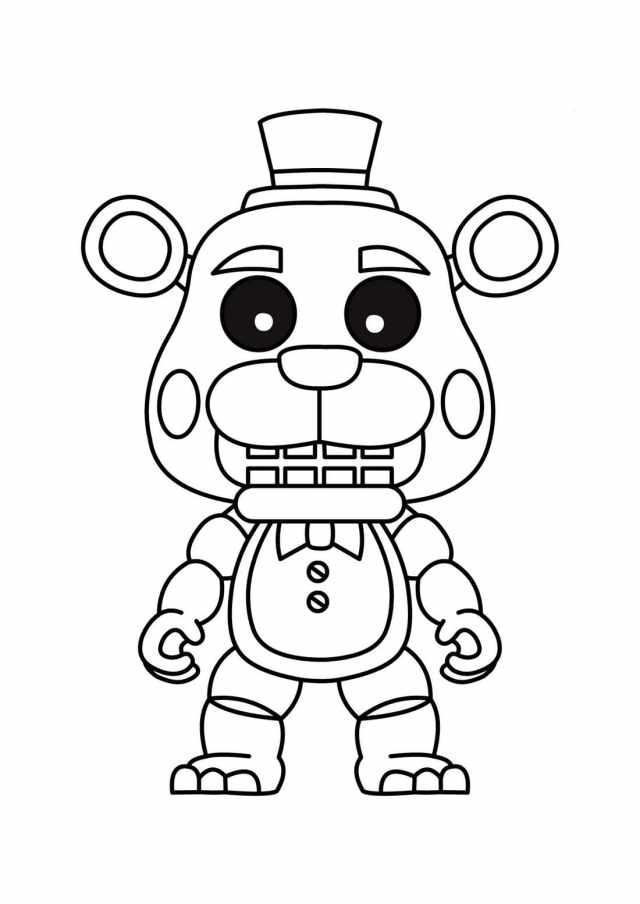 Freddy Coloring Pages. Free Printable Coloring Pages