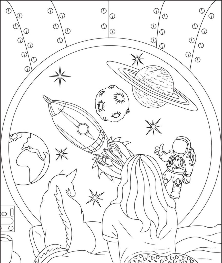Indie Kid Aesthetic Coloring Pages / 20 Beautifully Illustarted